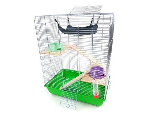 Klatka dla szczura, fretki, koszatniczki, szynszyla, wiewiórki