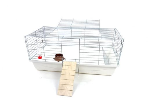 Klatka dla królika lub świnki morskiej 100cm z podestem
