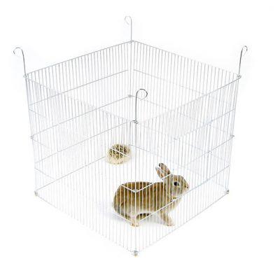 Kojec dla królika, świnki morskiej lub innego gryzonia - 4 elementowy