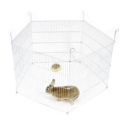 Kojec dla królika, świnki morskiej lub innego gryzonia - 5 elementowy