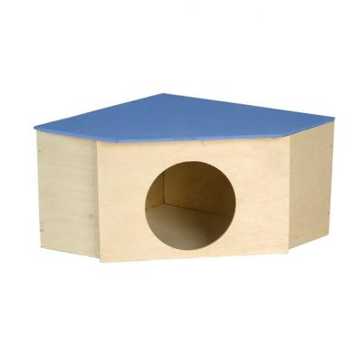 Domek dla gryzonia narożny