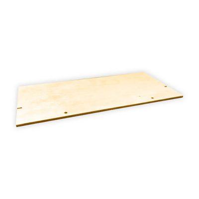 Półka drewniana doklatki dla gryzonia